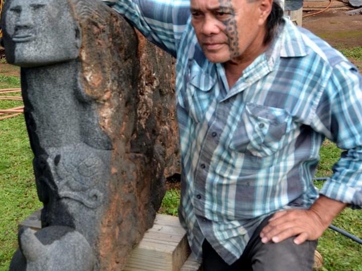 Hōaka Delos Reyes: Master Stone Carver