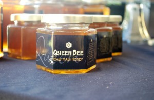 Queen Bee's own raw Maui honey.