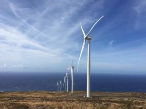 The Auwahi Wind Farm, South-East Maui.