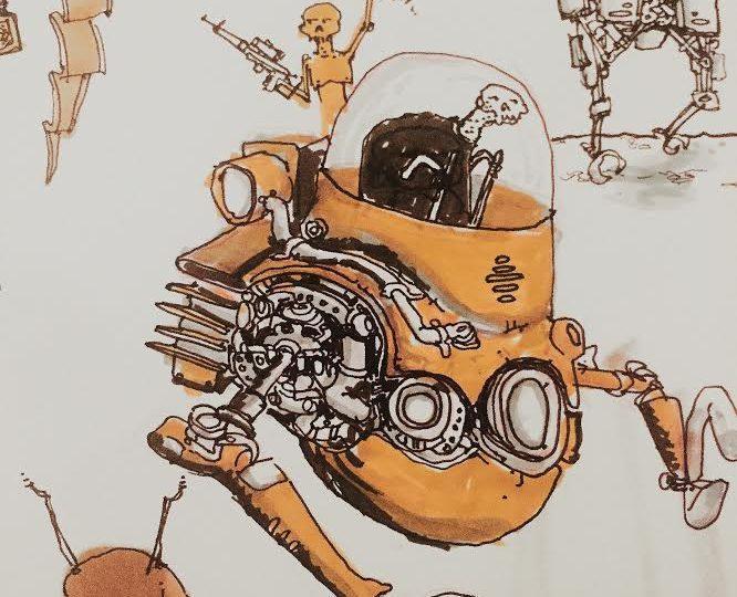 Alien Sketch