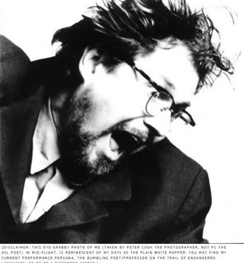 American Poet Bob Holman Visits UH Maui College