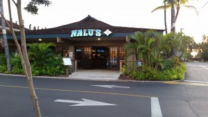 Nalu's South Side Grill in Kihei.