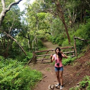 UH Maui College student Vanessa Gonzalez says one of her favorite things to do on Maui doesn't cost a thing: hiking.