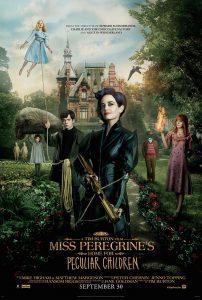 """Miss Peregrine's Home for Peculiar Children"" now playing at Maui Mall Megaplex Cinema."