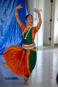 Dancer at last year's International Day