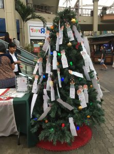 The Angel Tree located in heart of the Queen Ka'ahumanu Shopping Center.