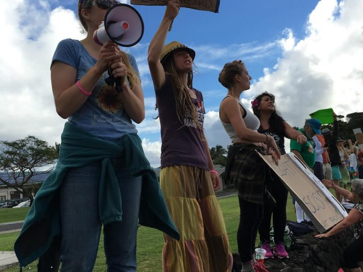 Women's March On Washington- Maui Style: A Strong Message from a Small Island