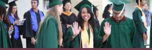 A UHMC Graduate excited to receive her diploma