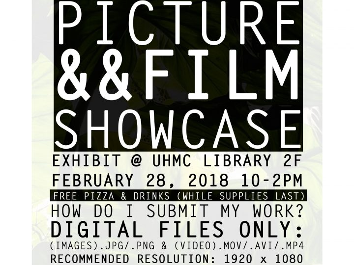 Deadline extended for Student Picture & Film Showcase