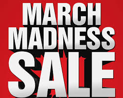 'March Madness' sale at the bookstore runs March 12-23