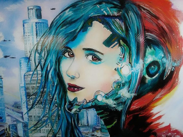 """Cyberpunk"" by Vanessa Benoit"