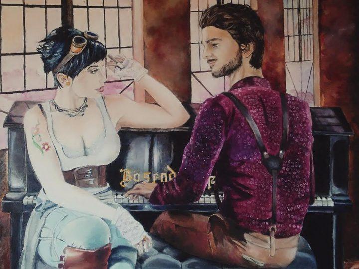 """""""Steamship Serenade"""" by Vanessa Benoit"""