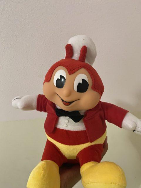 Plush character of Jollibee