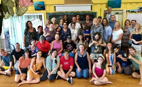 Group of participants at La'akea Village
