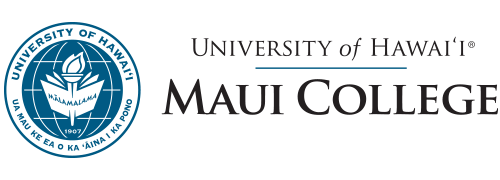University of Hawaii Maui College Retina Logo