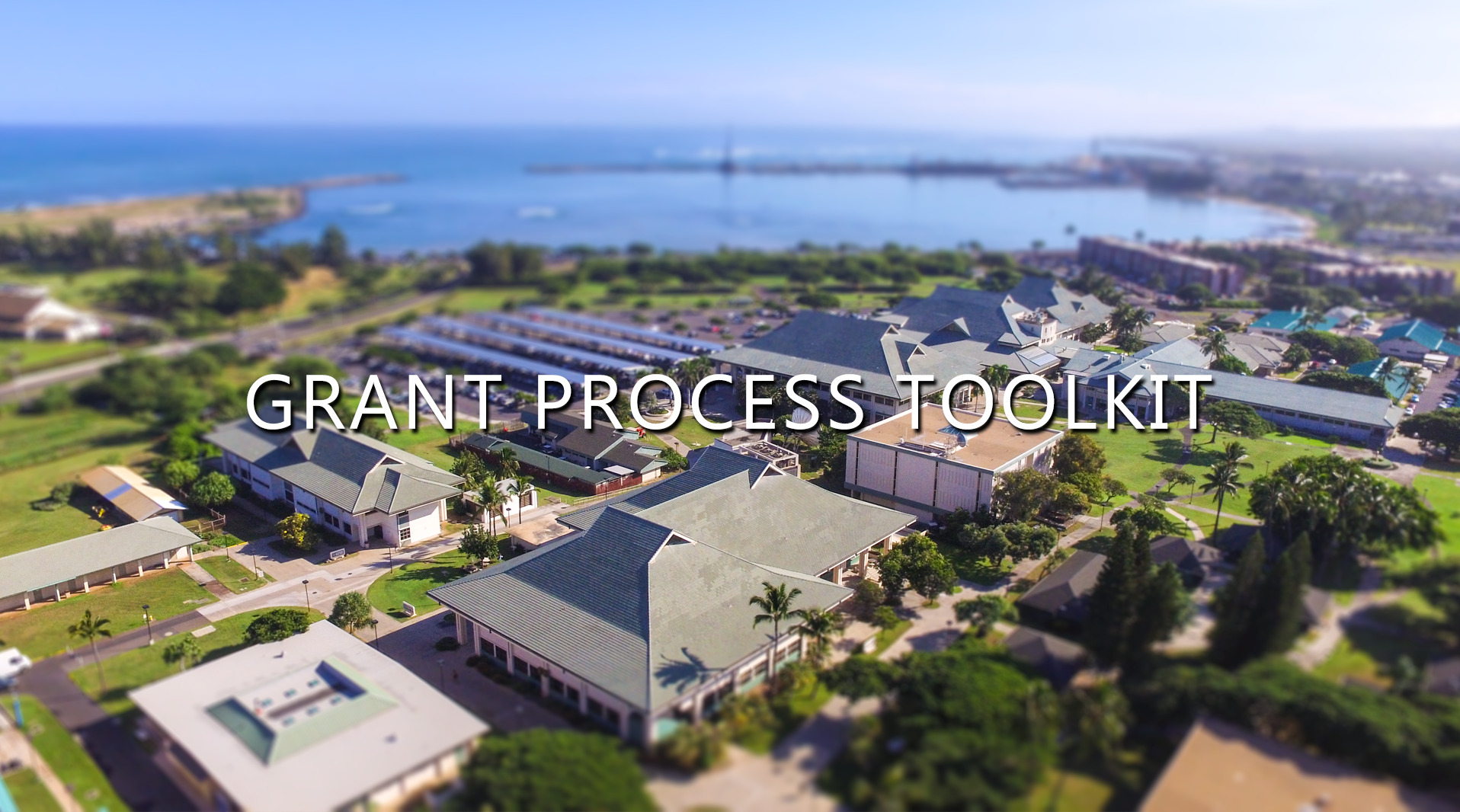 Grant Process Toolkit University Of Hawaii Maui College