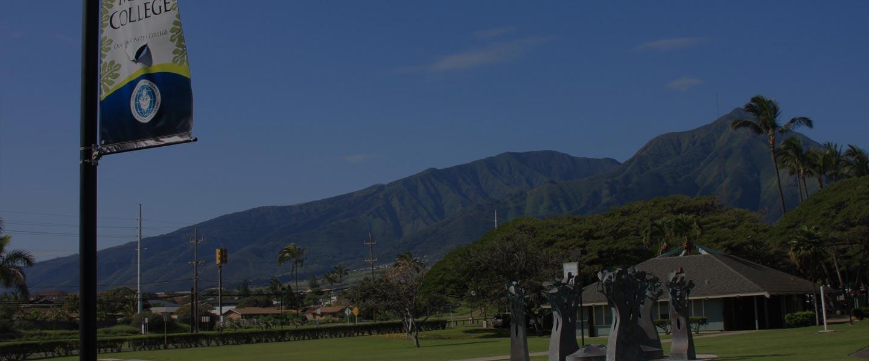 UH Maui College Courtyard