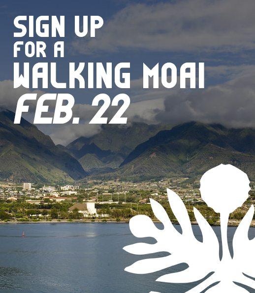 Walking Moai