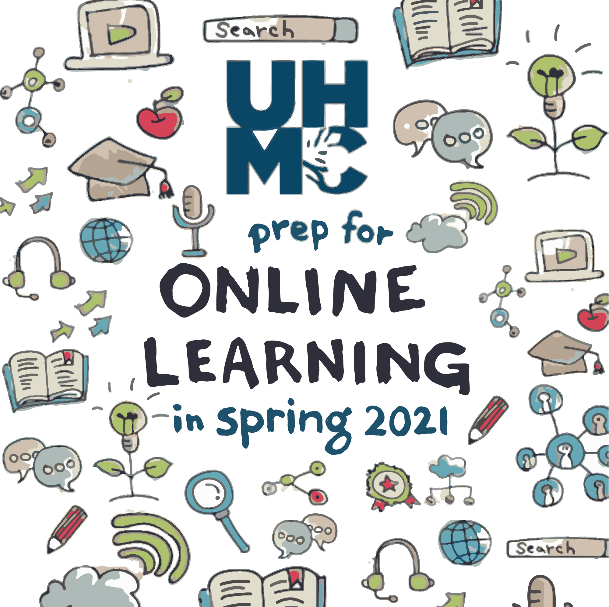 Get Ready for Online Learning Graphic
