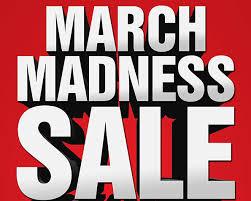 'March Madness' sale at the bookstore runs March 12-23