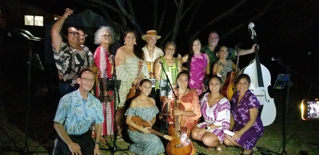 Maui and Moloka'i students gather for a photo