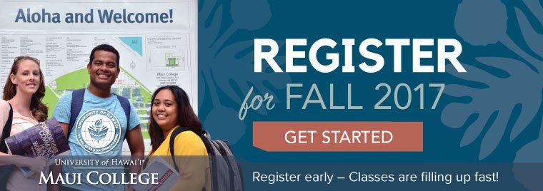 Register for Fall 2017